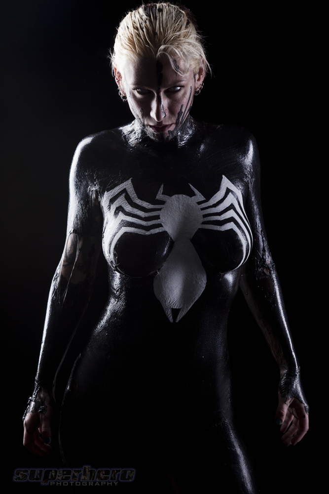 Female venom nude, naked raven villanueva